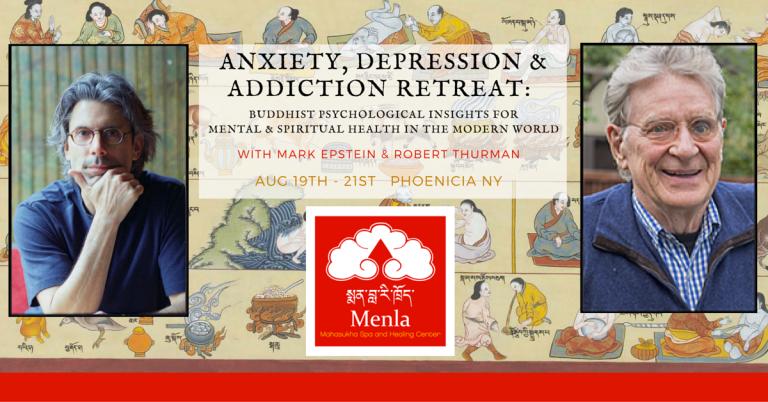 Mark Epstein M.D. & Robert AF Thurman at Menla 2016