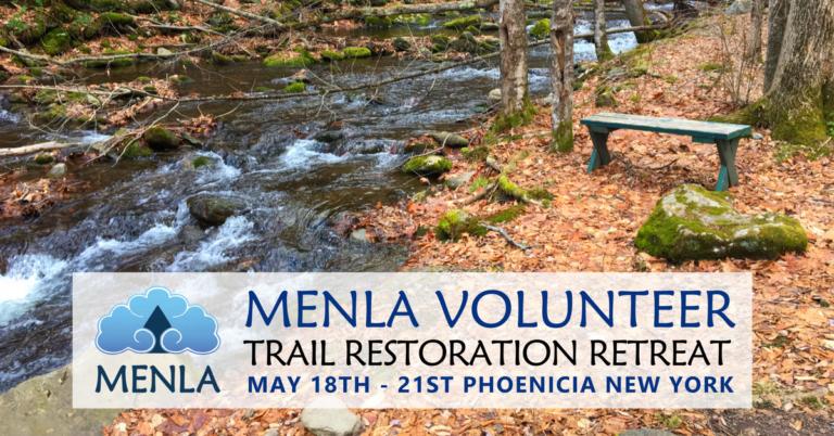Menla Volunteer Trail Restoration Retreat 2017