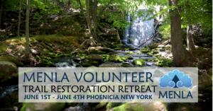 Menla Volunteer Trail Restoration Retreat June 2017