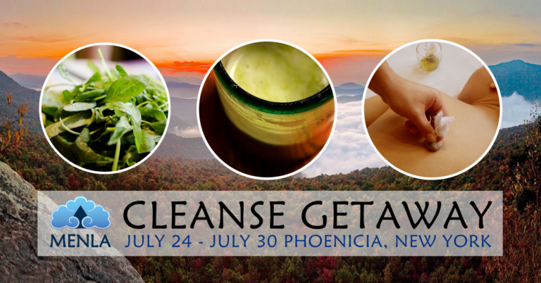 Menla Retreat Spa Cleanse with Yoga Meditation & Massage in The Catskills